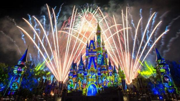 Happily Ever After Walt Disney World Cinderella Castle