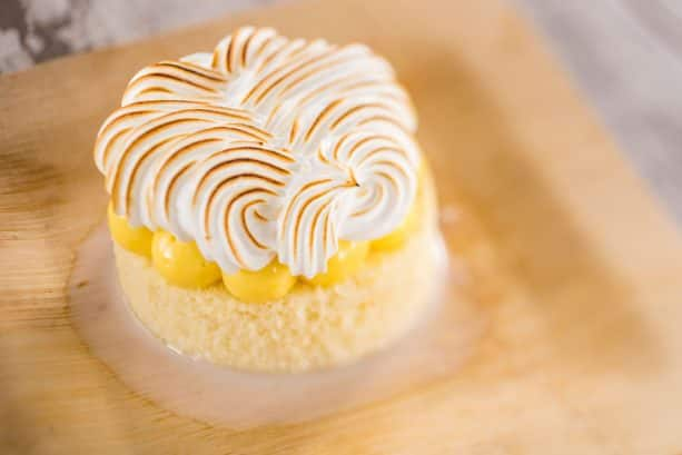 Passion Fruit Tres Leche at Spyglass Grill at Disney's Caribbean Beach Resort