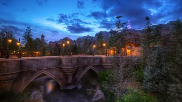 Beast Castle in New Fantasyland at Magic Kingdom Parks