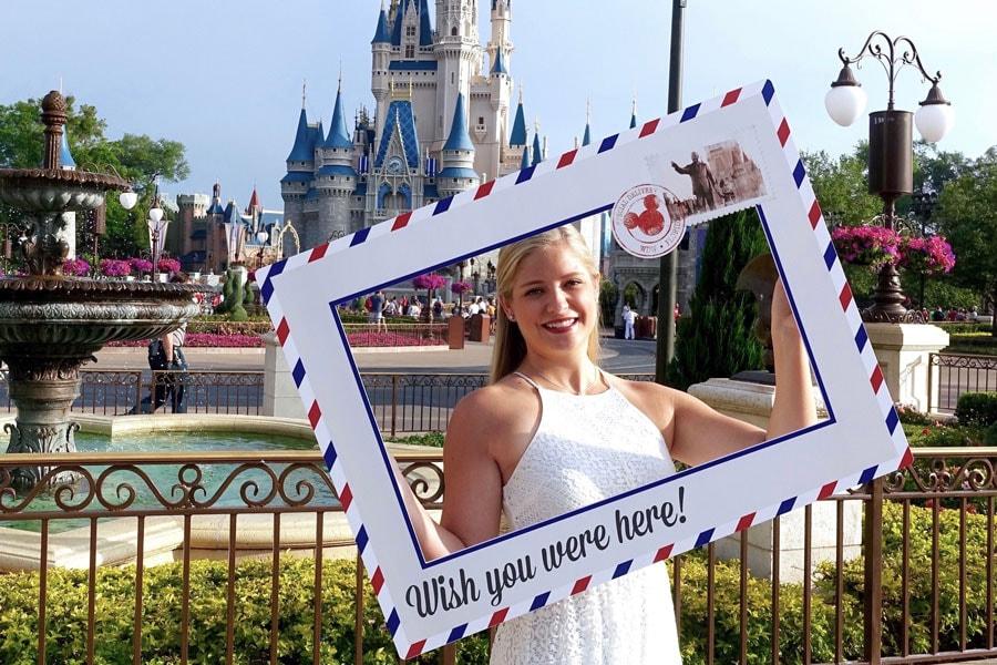 Disney PhotoPass - Wish You Were Here photo frame