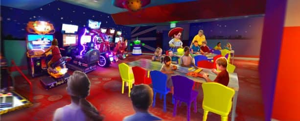 Reservations Now Open for Pixar Play Zone at Disney's