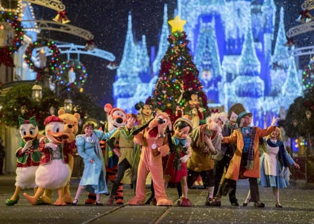 mickeys once upon a christmastime parade during mickeys very merry christmas party - Mickeys Christmas Party Tickets