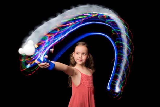Family Fun Activities at Aulani, a Disney Resort & Spa - Painting with Light