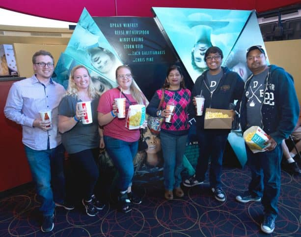 Fans at the 'Wrinkle In Time' Meet-Up