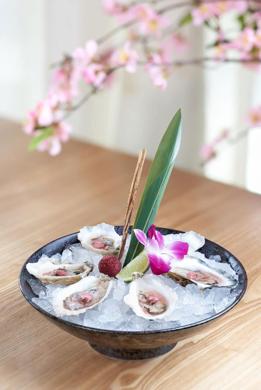 Chilled Panacea Oysters