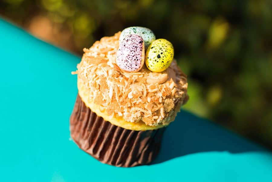 Easter Cupcake at Creature Comforts at Disney's Animal Kingdom Theme Park