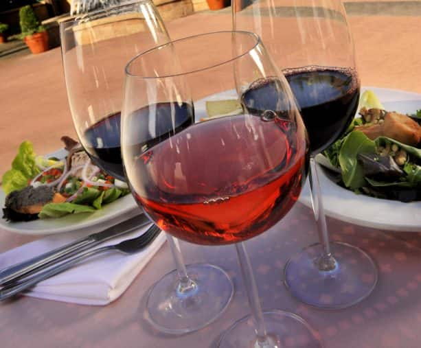 Glasses of Wine from the Disney California Adventure Food & Wine Festival