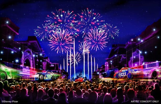 All-new firework spectacular at Pixar fest at the Disneyland Resort