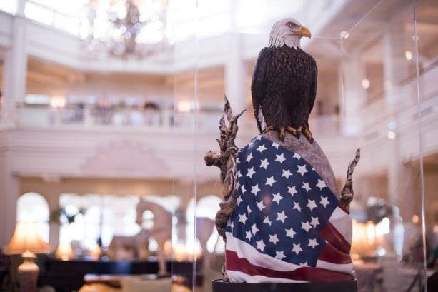 American Eagle Easter Egg at Disney's Grand Floridian Resort & Spa