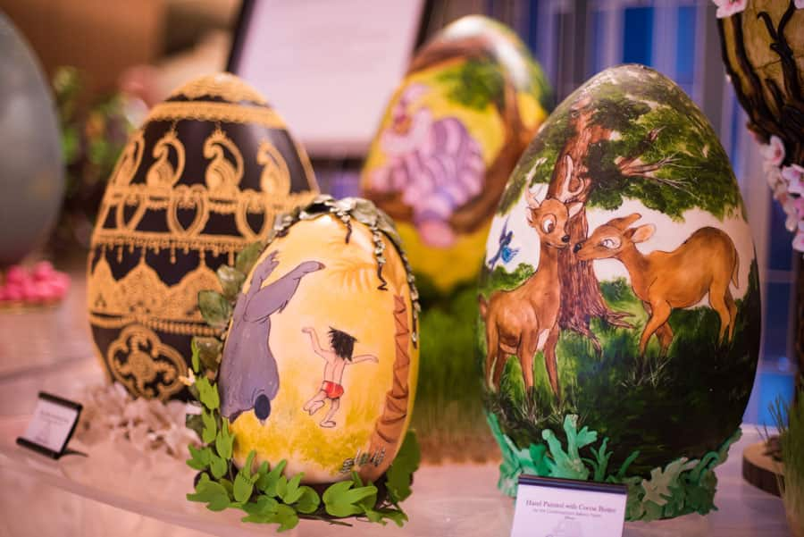Disney-Themed Easter Eggs at Disney's Contemporary Resort