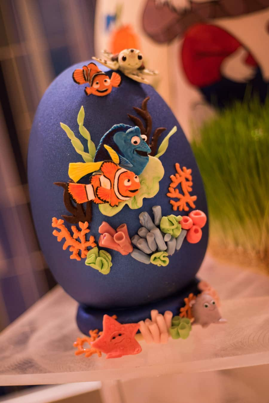 Finding Nemo Easter Egg at Disney's Contemporary Resort
