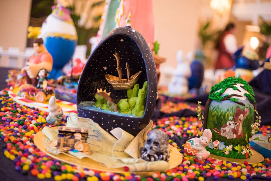 Peter Pan and Bambi-Themed Easter Eggs at Disney's Beach Club Resort