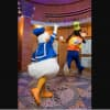 Donald and Goofy at Rock 'n' Roller Coaster Starring Aerosmith