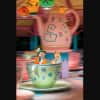 Mad Hatter and Alice on Mad Tea Party