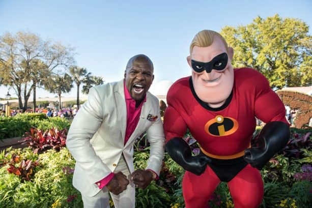 Terry Crews and Mr. Incredible