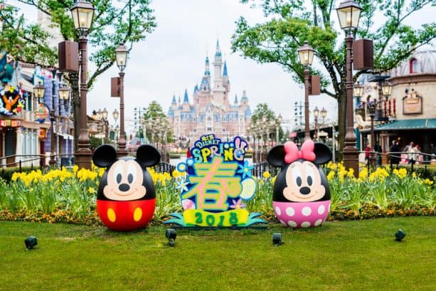 Easter Egg scavenger hunt at Shanghai Disneyland Resort