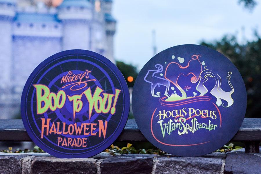 Disney PhotoPass - Mickey's Not-So-Scary Halloween Party photo props