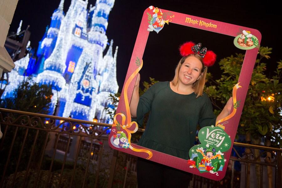 Disney PhotoPass - Mickey's Very Merry Christmas Party photo frame