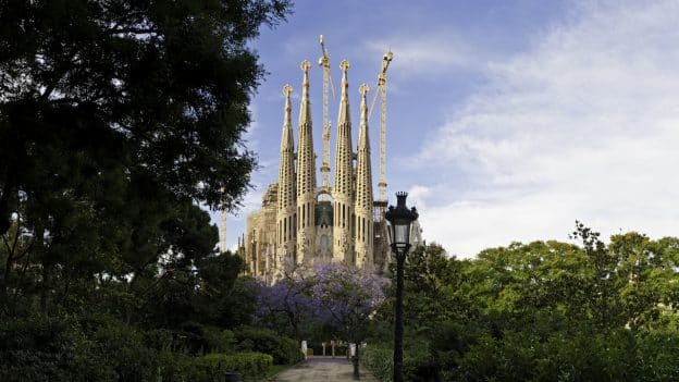 La Sagrada Familia in Barcelona, Spain on Adventures by Disney Barcelona Vacation packages
