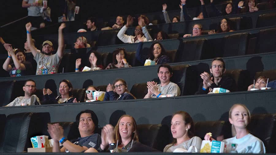 Guests at the theater during 'Wrinkle In Time' Meet-Up