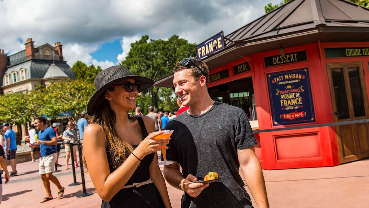 The 2018 Epcot International Food Wine Festival Brings 75 Days Of