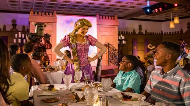 Rapunzel's Royal Table on the Disney Magic