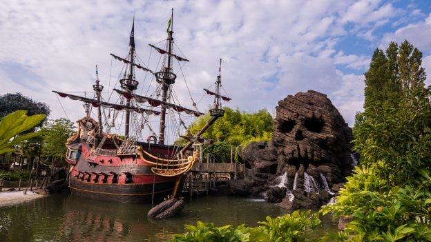 Pirates Beach at Disneyland Park Paris