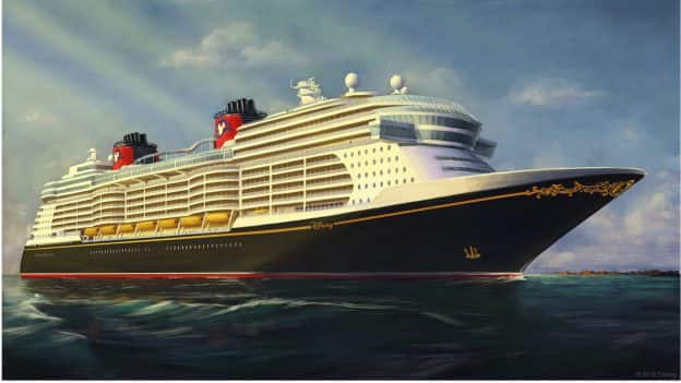 New Disney Cruise Line Ship Rendering