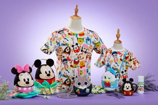 Seasonal Springtime Merchandise Available at Shanghai Disney Resort