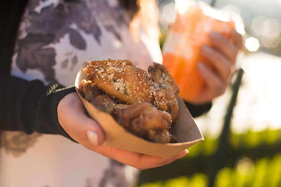 Disney California Adventure Food & Wine Festival - Salt & Vinegar Parmesan Wings