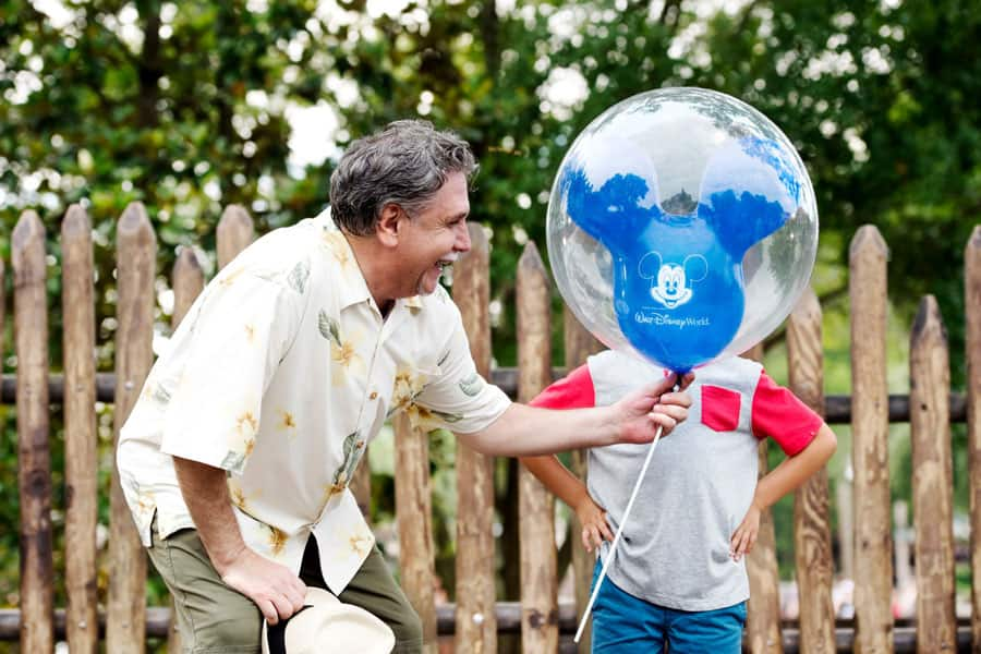 Disney PhotoPass - Mickey Balloon photo