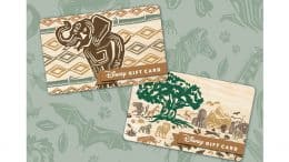 New gift cards to celebrate Disney's Animal Kingdom 20th anniversary