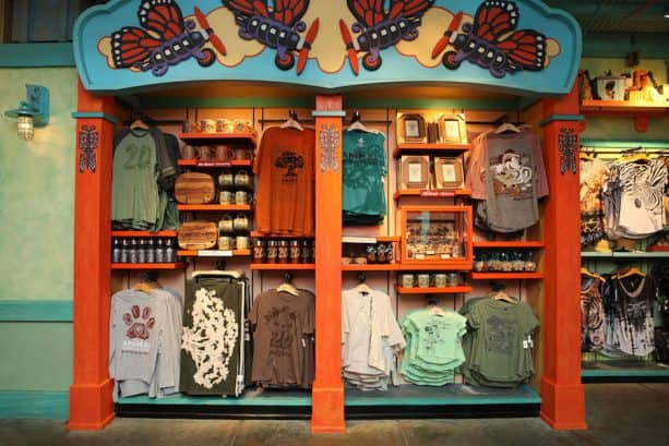 Disney's Animal Kingdom 20th Anniversary Merchandise Display