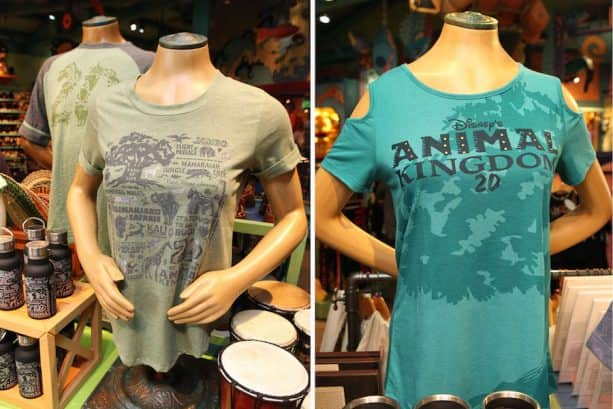 Disney's Animal Kingdom 20th Anniversary Apparel
