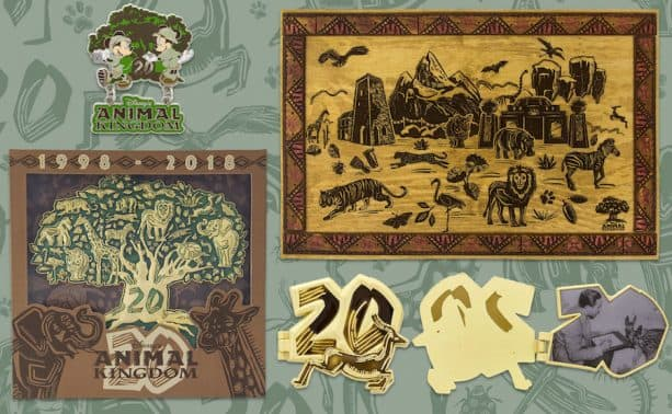 Disney's Animal Kingdom 20th Anniversary Logo Products