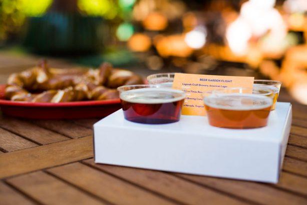 Disney California Adventure Food & Wine Festival - Beer Garden Flight