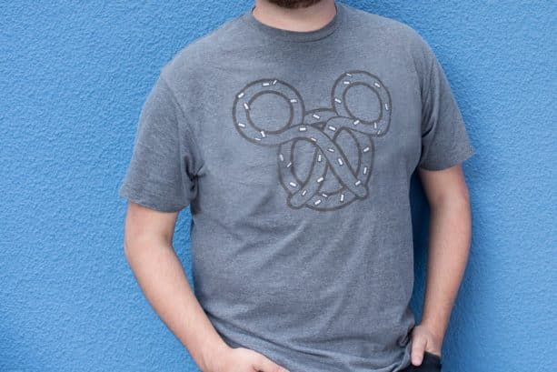 Disney Parks Mickey Mouse Pretzel T-Shirt