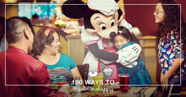 100 Ways to #GetMoreHappy at Disneyland Resort