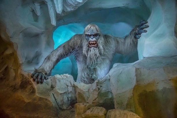 Abominable Snowman, at Matterhorn Bobsled, Disneyland park