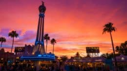 Sunset at Disney's Hollywood Studios