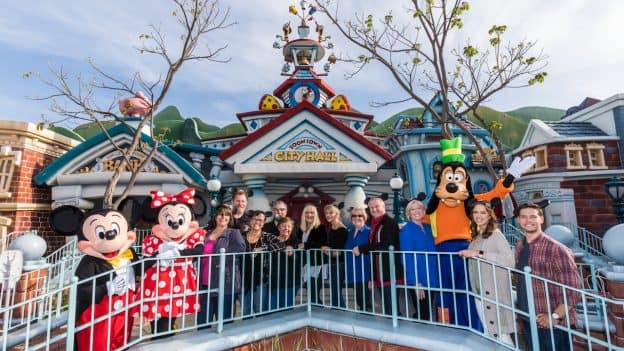 Four Generations, One Family, of Disneyland Resort Cast Members