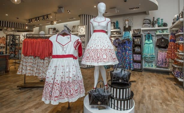 Inside of The Disney Dress Shop Now Open at Disneyland Resort