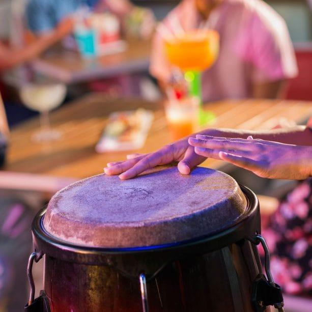 Music at Bongos Cuban Café at Disney Springs