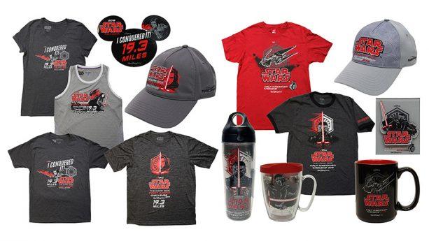 New tank tops, coffe mugs, bottles and shirts, Disney 2018 Star Wars Half Marathon