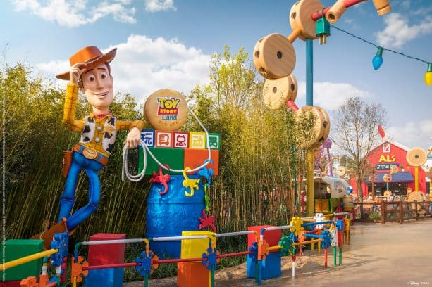 Disney·Pixar Toy Story Land at Shanghai Disneyland