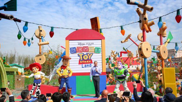 Bob Iger at Toy Story Land Opening, Shanghai Disney Resort
