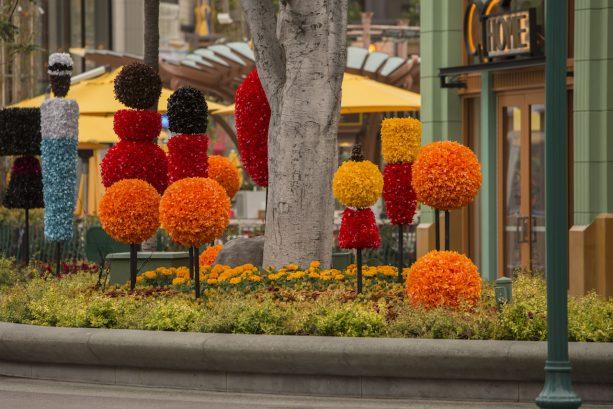 Downtown Disney Pixar Fest Planter