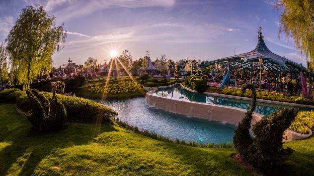 Fantasyland at Disneyland Paris