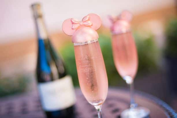 Millennial Pink Celebration Toast at Amorette's Patisserie at Disney Springs