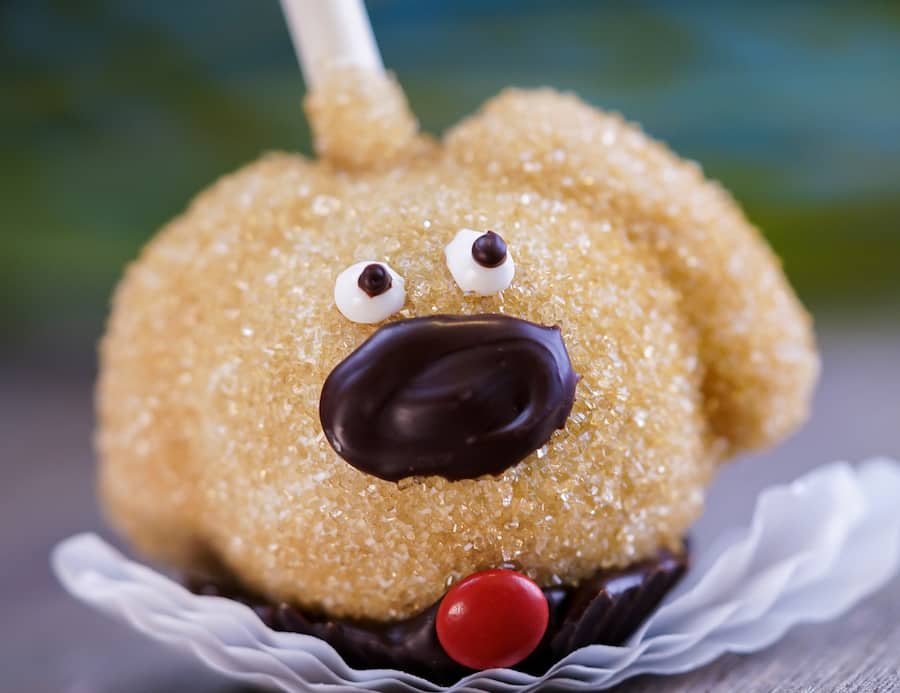 Dug Cake Pop for Pixar Fest at Candy Palace at Disneyland Park